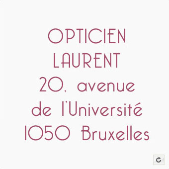 Opticien Laurent Adresse
